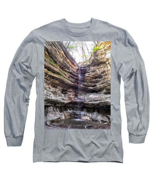 Spring Trickling In Long Sleeve T-Shirt by Darren Robinson