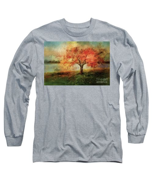 Sprinkled With Spring Long Sleeve T-Shirt by Lois Bryan