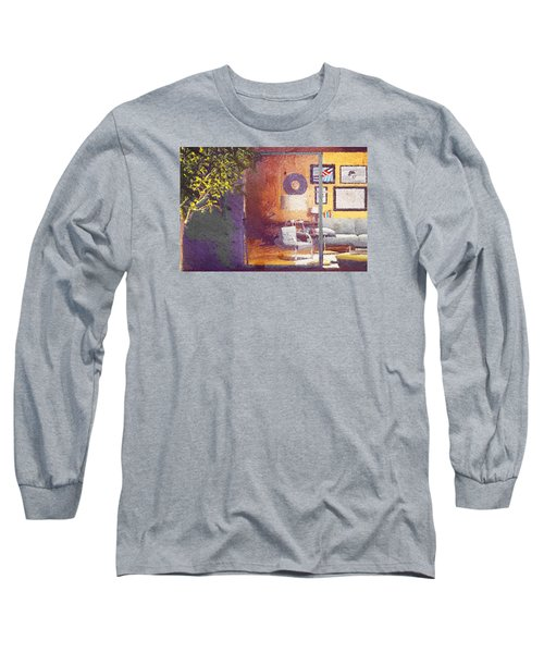 Long Sleeve T-Shirt featuring the digital art Spying Your Room by Andrea Barbieri