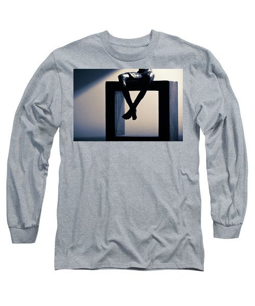 Square Foot Long Sleeve T-Shirt by David Sutton