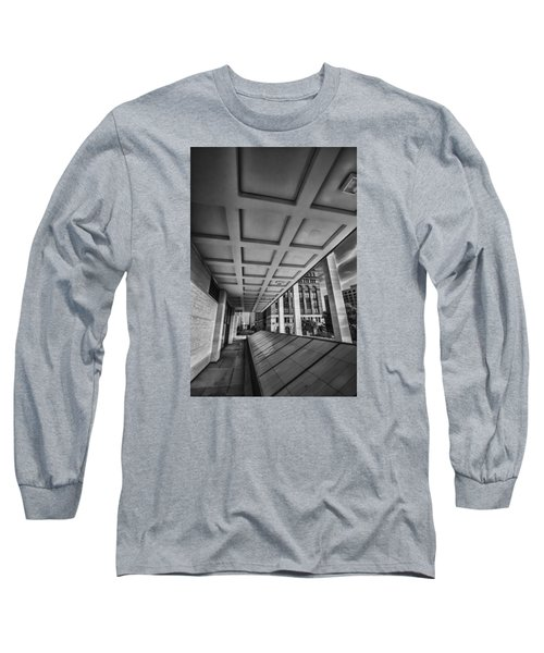 Squares Of Architecture   Long Sleeve T-Shirt