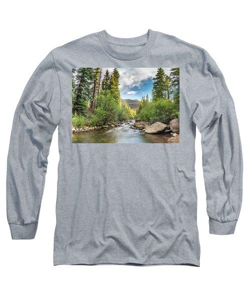 Squaw Creek, Colorado Long Sleeve T-Shirt