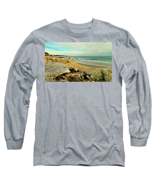 Squibby Cliffs And Mackerel Sky Long Sleeve T-Shirt