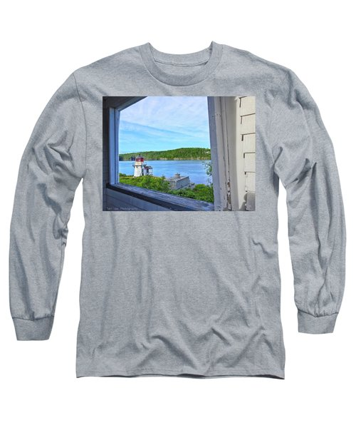 Squirrel Point View From The Deck Long Sleeve T-Shirt