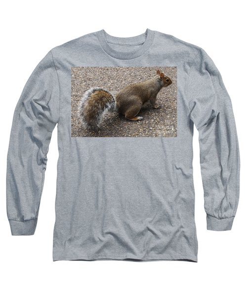 Squirrel Side Long Sleeve T-Shirt