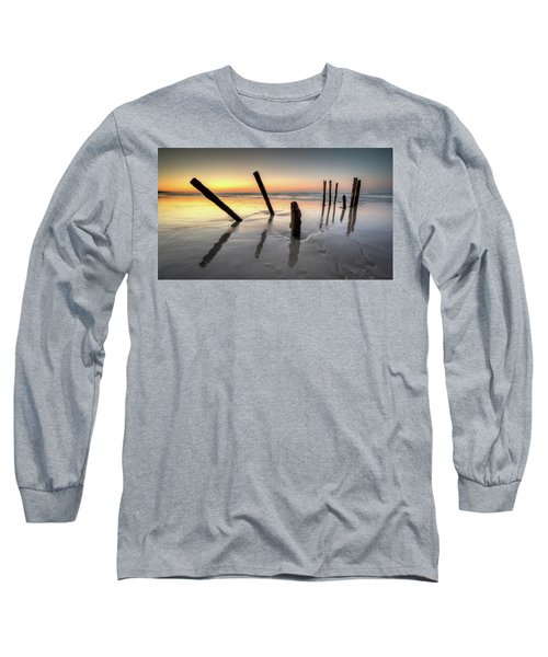 St Clair Sunset Long Sleeve T-Shirt by Brad Grove