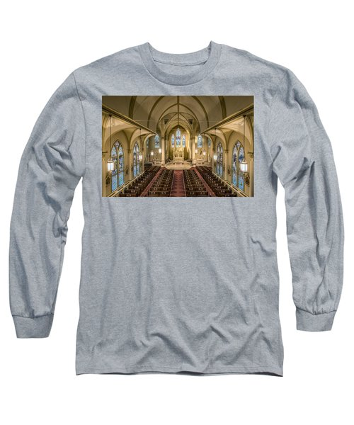 St. Francis Xavier Cathedral Long Sleeve T-Shirt
