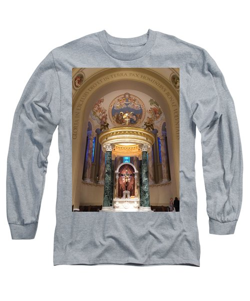 St. Joseph Cathedral-sioux Falls Sd Long Sleeve T-Shirt