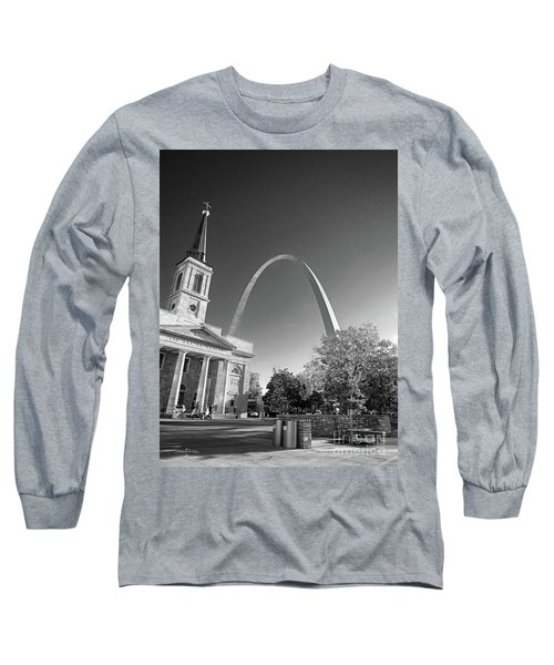 St. Louis Arch Long Sleeve T-Shirt