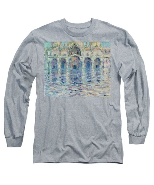 st-Marco square- Venice Long Sleeve T-Shirt