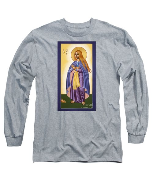 St Mary Magdalen Equal To The Apostles 116 Long Sleeve T-Shirt by William Hart McNichols