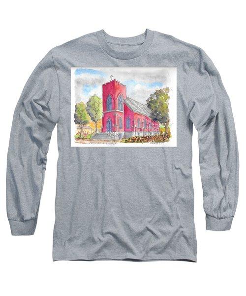 St. Mary's Catholic Church, Oneonta, Ny Long Sleeve T-Shirt