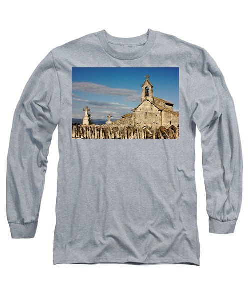 St. Pantaleon Church,  Luberon, France Long Sleeve T-Shirt