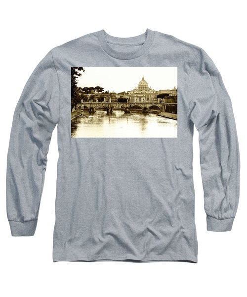 Long Sleeve T-Shirt featuring the photograph St. Peters Basilica by Mircea Costina Photography