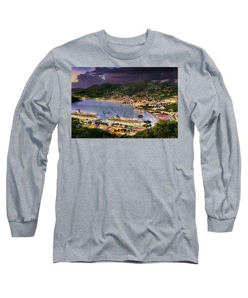 St Thomas Nights Long Sleeve T-Shirt