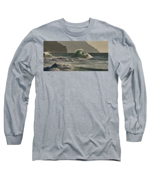 Stack Wave Long Sleeve T-Shirt