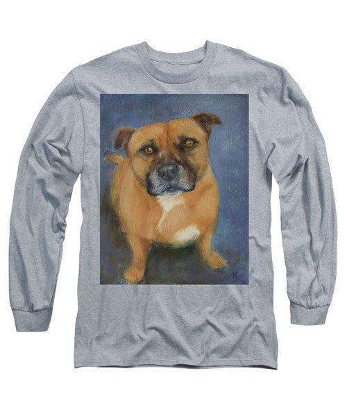 Staffordshire Bull Terrier Long Sleeve T-Shirt