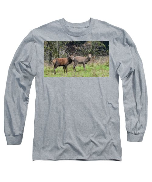 Stag And Doe  Long Sleeve T-Shirt