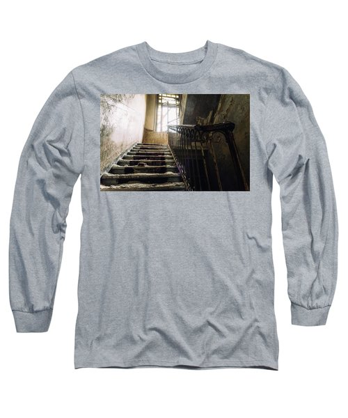 Stairs In Haunted House Long Sleeve T-Shirt