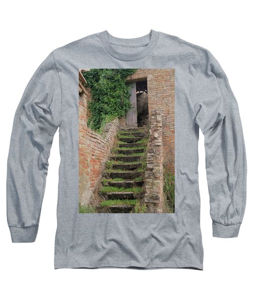 Stairway Less Traveled Long Sleeve T-Shirt