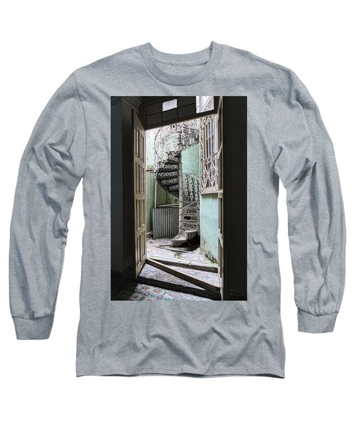 Stairway To Up Long Sleeve T-Shirt