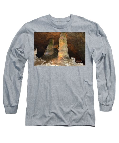 Stalagmites And Stalactites Long Sleeve T-Shirt