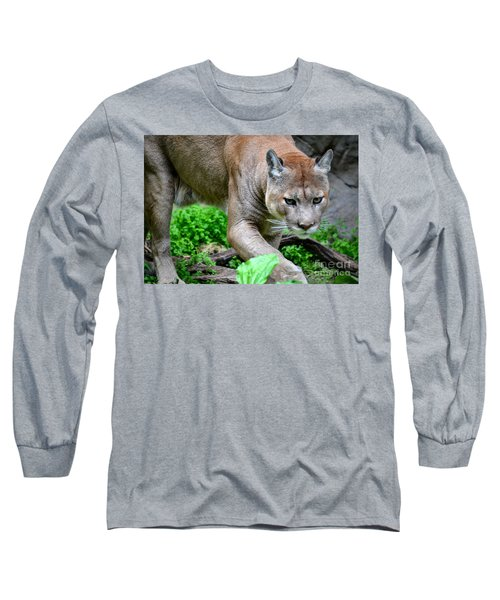 Stalking Long Sleeve T-Shirt by Deb Halloran