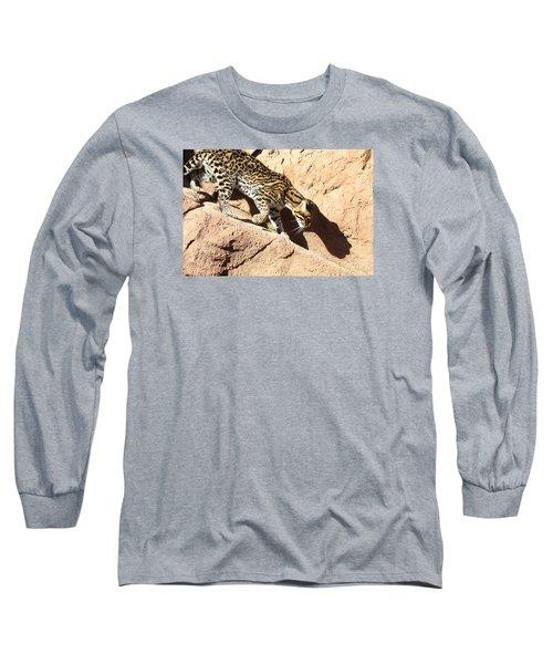 Stalking Ocelot Long Sleeve T-Shirt