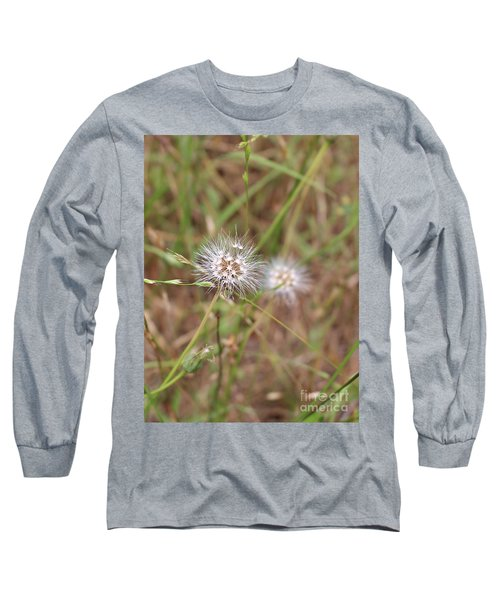 Long Sleeve T-Shirt featuring the photograph Stand Back by Marie Neder
