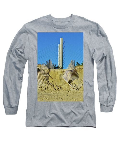 Stand The Storm Long Sleeve T-Shirt by William Bartholomew