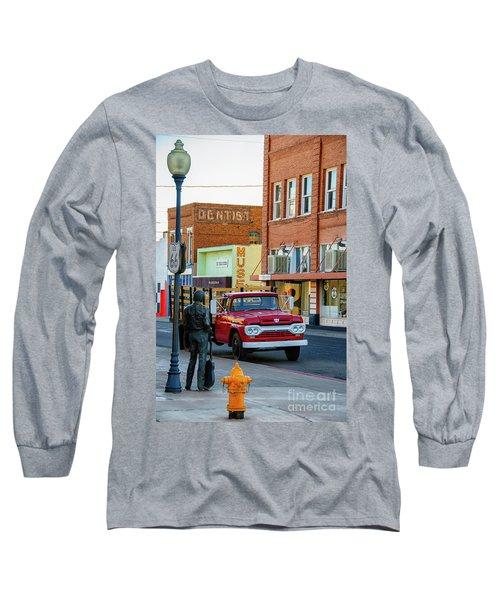 Standin On The Corner Park Long Sleeve T-Shirt