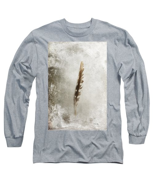 Standing Feather Long Sleeve T-Shirt