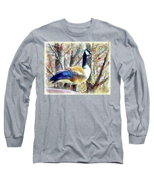 Standing Sentry Long Sleeve T-Shirt