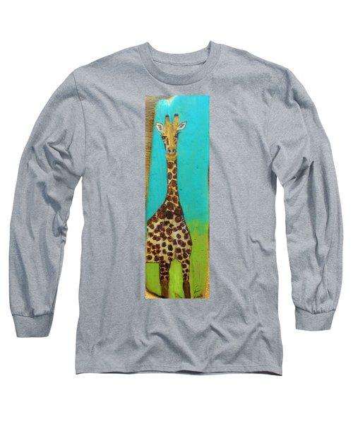 Standing Tall Long Sleeve T-Shirt by Ann Michelle Swadener