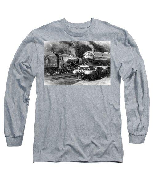 Stanier Pacifics At Swanwick Long Sleeve T-Shirt