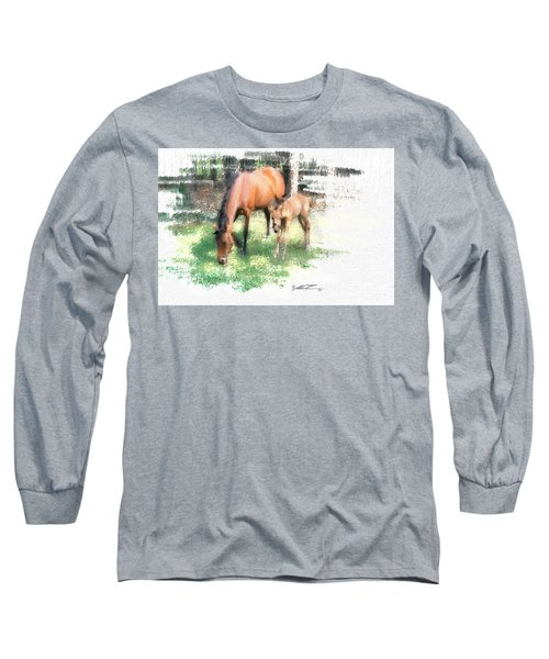 Star And Her Colt Long Sleeve T-Shirt
