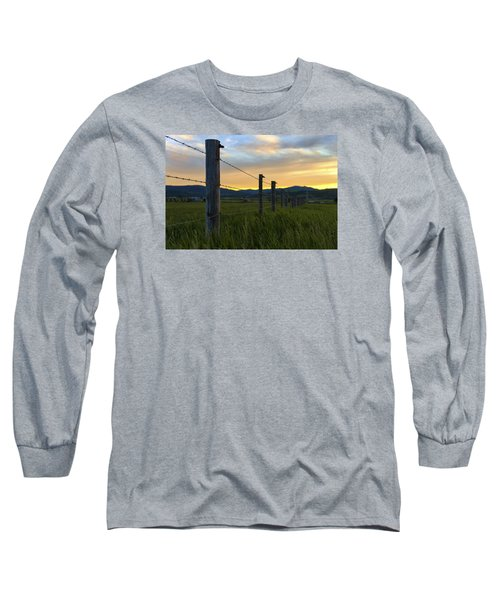 Star Valley Long Sleeve T-Shirt by Chad Dutson
