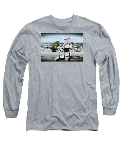 Star Wars By Knight 2000 Photography - Clone Wars Long Sleeve T-Shirt by Laura Michelle Corbin