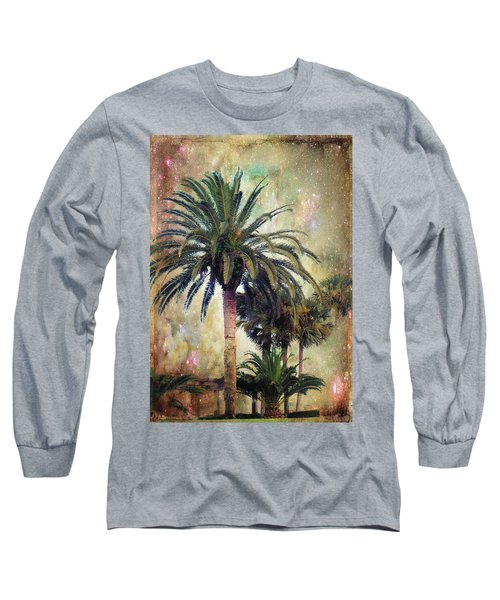 Starry Evening In St. Augustine Long Sleeve T-Shirt