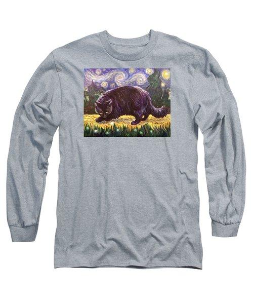 Starry Night Stroll Long Sleeve T-Shirt