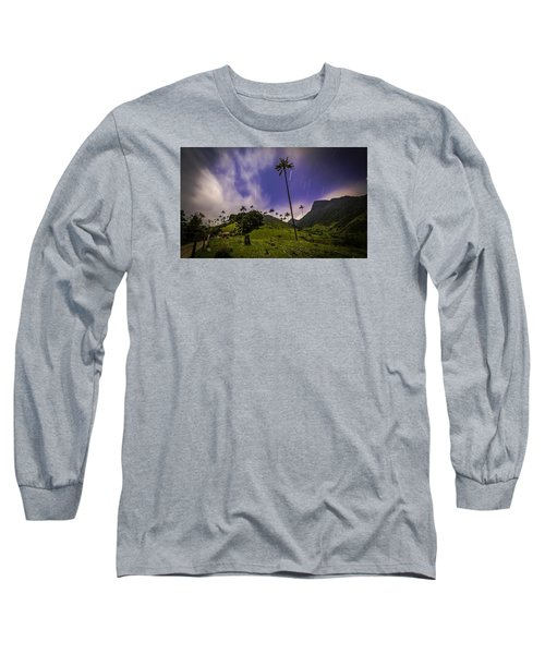 Stars In The Valley Long Sleeve T-Shirt