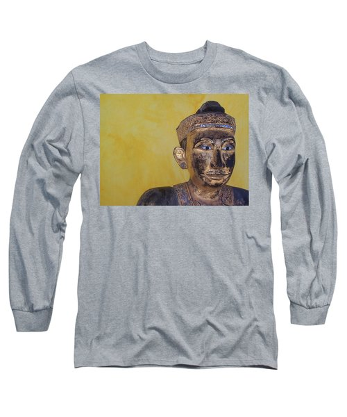 Long Sleeve T-Shirt featuring the photograph Statue by Mary-Lee Sanders