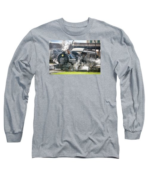 Steam Engine #30 Long Sleeve T-Shirt