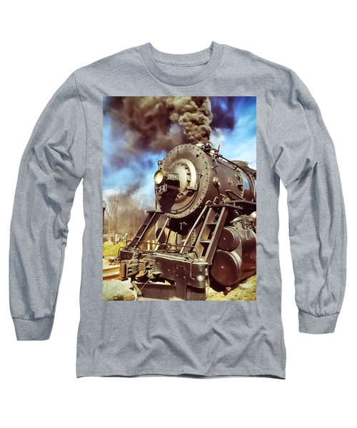 Steam Engine Long Sleeve T-Shirt