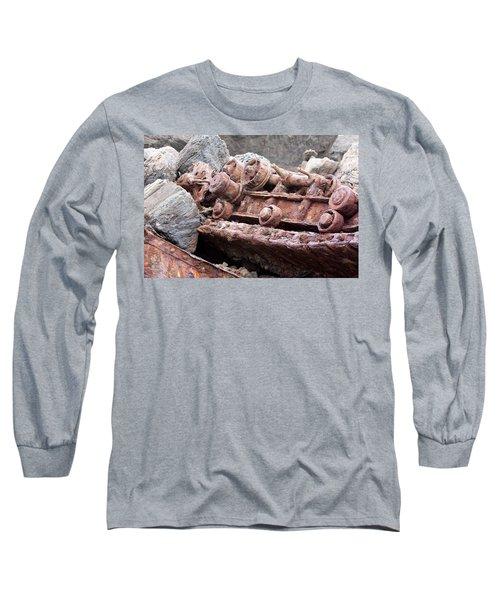 Steam Shovel Number Four Long Sleeve T-Shirt