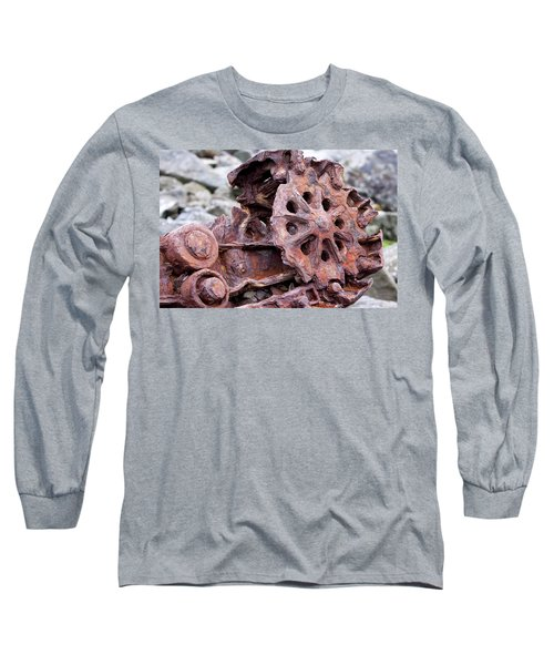 Steam Shovel Number Two Long Sleeve T-Shirt