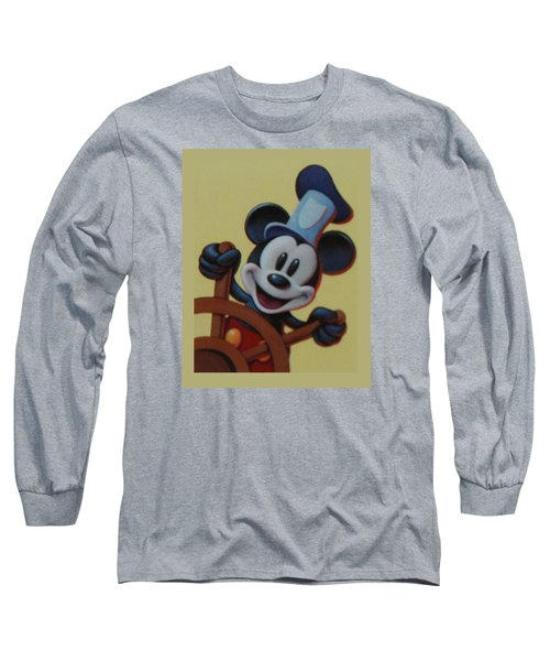 Steamboat Willy Long Sleeve T-Shirt by Rob Hans