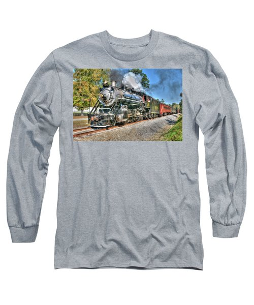 Steaming Long Sleeve T-Shirt