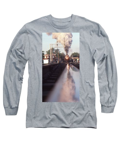 Steaming Up Long Sleeve T-Shirt by Gordon Mooneyhan