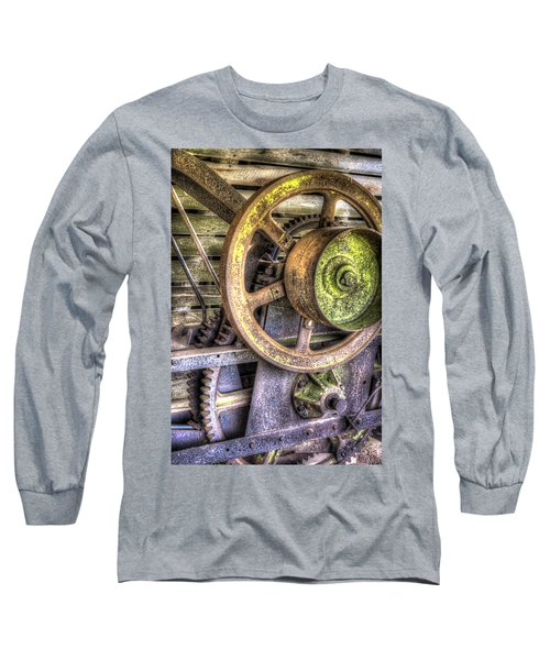 Steampunk Farming Long Sleeve T-Shirt